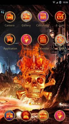 Skeletons Hola Launcher Theme
