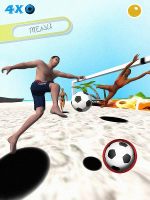 Soccer Beach @ Survivor Island