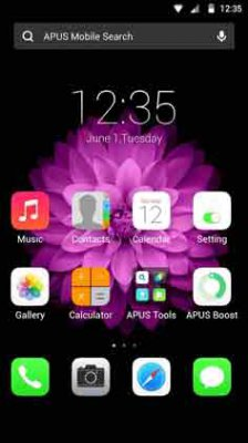 OS Plus theme for APUS